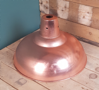 Pendant Hanging Light Polished Copper 360mm